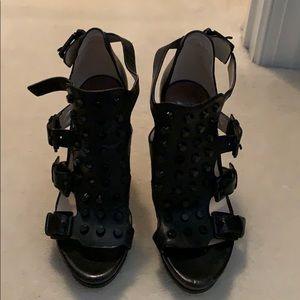 Michael kors studded heels